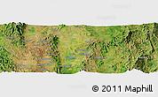 Satellite Panoramic Map of Taunggyi