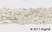 Shaded Relief Panoramic Map of Wan Hat-yao