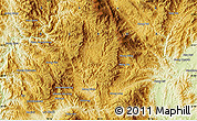 Physical Map of Wān Möngnoi