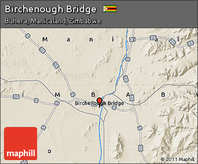 Free shaded relief map of birchenough bridge shaded relief map of birchenough bridge gumiabroncs Images