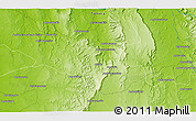 Physical 3D Map of Ankazoambo