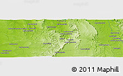 Physical Panoramic Map of Ankazoambo