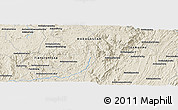 "Shaded Relief Panoramic Map of the area around 20° 2' 43"" S, 47° 40' 29"" E"