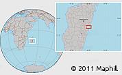 Gray Location Map of Marolambo