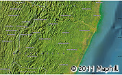 "Satellite Map of the area around 20°2'43""S,48°31'29""E"