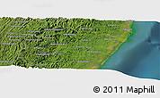 "Satellite Panoramic Map of the area around 20°2'43""S,48°31'29""E"