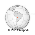 Outline Map of Japapias, rectangular outline