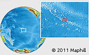 Physical Location Map of Fakamaru