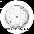 Outline Map of Fakamaru, rectangular outline