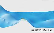 Physical Panoramic Map of Fakamaru