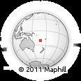 Outline Map of Koumo, rectangular outline