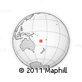 Outline Map of Natchaom, rectangular outline