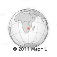 Outline Map of Chabwira Primary School, rectangular outline