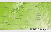 Physical 3D Map of Ambatovita