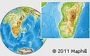 Physical Location Map of Ambatovita