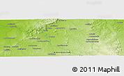 Physical Panoramic Map of Ambatovita
