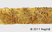 Physical Panoramic Map of Sahavatoana