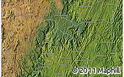 "Satellite Map of the area around 20°32'59""S,47°40'29""E"