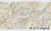 Shaded Relief 3D Map of Wān Enta-ki-li