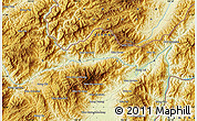 Physical Map of Wān Ra-sa-hkanhkam