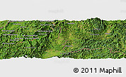Satellite Panoramic Map of Wān Hpya-tè-sa