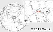 """Blank Location Map of the area around 21°23'18""""N,102°4'29""""E"""