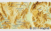 Physical 3D Map of Ban Phya