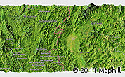 Satellite 3D Map of Ban Houayngeun
