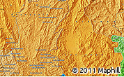 Political Map of Ban Houayngeun