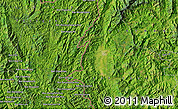 Satellite Map of Ban Houayngeun