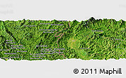 Satellite Panoramic Map of Ban Houayngeun