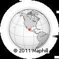 Outline Map of Moyahua De Estrada, rectangular outline