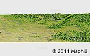 Satellite Panoramic Map of Bắc Ninh