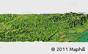 Satellite Panoramic Map of Bản Mọi