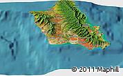 Satellite 3D Map of West Loch Estates