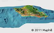 Satellite Panoramic Map of West Loch Estates