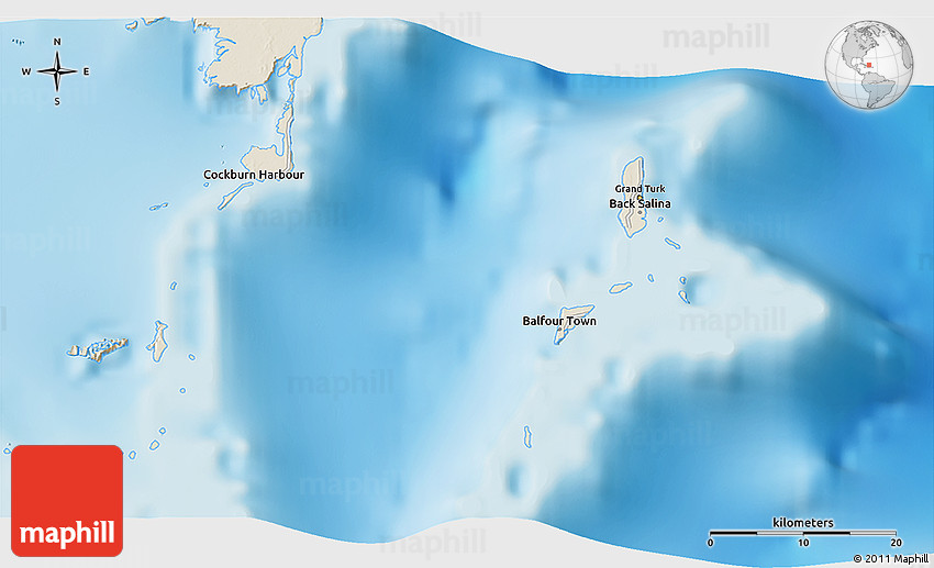 Shaded Relief 3D Map of Grand Turk on jamaica map, world map, nassau map, belize map, cockburn town map, grand turks and caicos, aruba map, calica map, salt cay map, mexico map, providenciales map, curacao map, half moon cay map, st. kitts map, grand cayman map, san juan map, st. thomas map, panama map, charlotte amalie map, swaziland geography map,