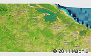 Satellite 3D Map of Minas