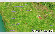 """Satellite 3D Map of the area around 21°23'18""""N,78°7'30""""W"""