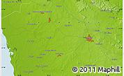 Physical Map of Santa Gertrudis