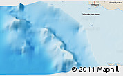 """Shaded Relief 3D Map of the area around 21°23'18""""N,79°49'29""""W"""
