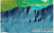 """Satellite 3D Map of the area around 21°23'18""""N,82°22'30""""W"""