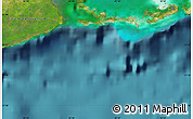 """Satellite Map of the area around 21°23'18""""N,82°22'30""""W"""