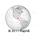 """Outline Map of the Area around 21° 23' 18"""" N, 90° 52' 30"""" W, rectangular outline"""