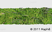 Satellite Panoramic Map of Wān Ra-sa-hkamhkam