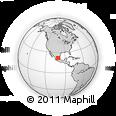 Outline Map of Santa Maria Del Rio, rectangular outline