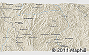 """Shaded Relief 3D Map of the area around 21°53'23""""N,102°4'29""""E"""