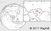 """Blank Location Map of the area around 21°53'23""""N,104°37'30""""E"""