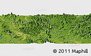 Satellite Panoramic Map of Bắc Kạn