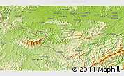 """Physical 3D Map of the area around 21°53'23""""N,107°10'30""""E"""